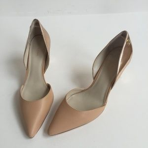 Calvin Klein Naline Nude with Rose Gold Metallic